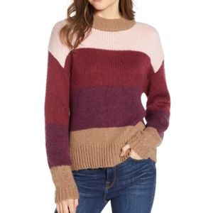 Rebecca Minkoff | Kendall Striped Crewneck Sweater